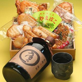 本格芋焼酎「うほっ」&紀州かまぼこ詰め合わせ.png